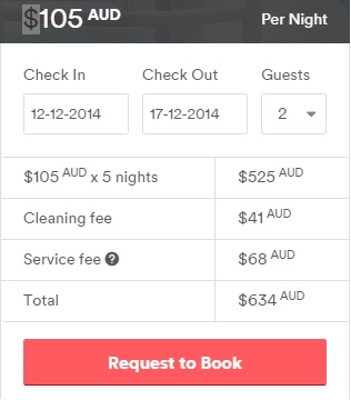 What are Guest service fees