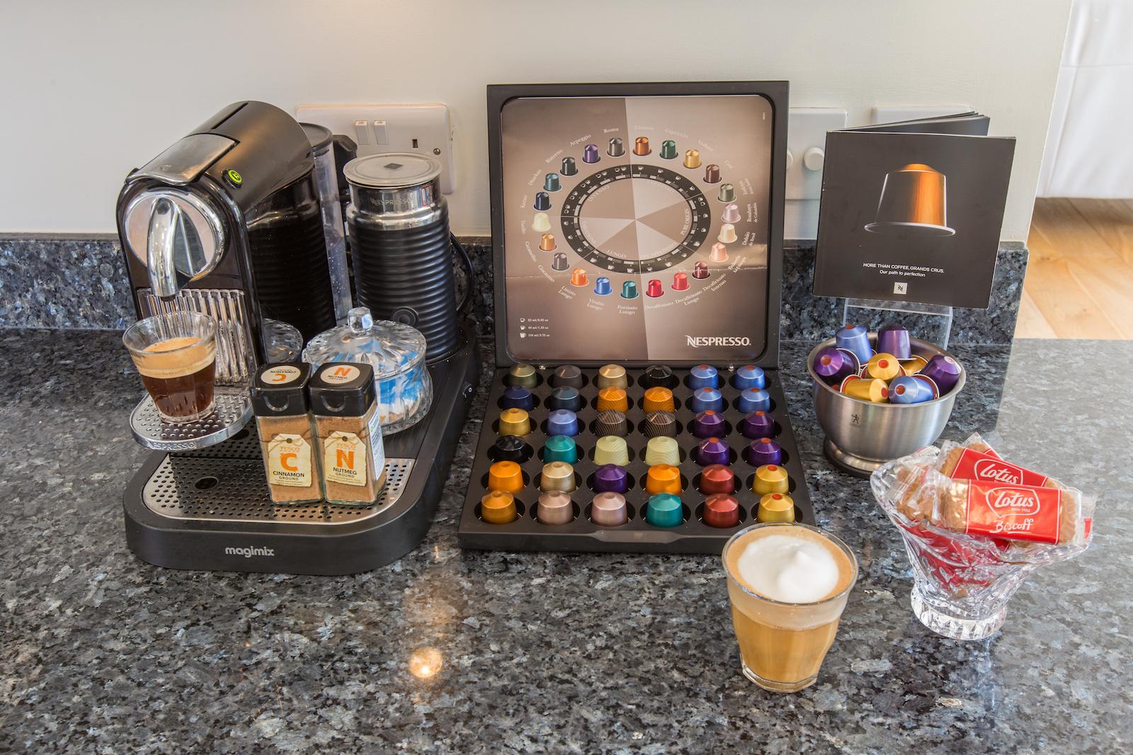 Coffee in luxury