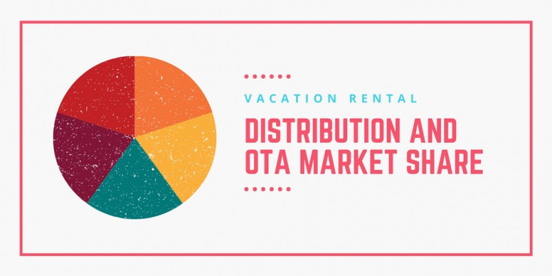 Vacation rental market share and distribution 2017